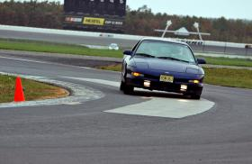 "Midturn on the north course layout of Pocono Raceway.  Photo taken during a <a href=""http://pdadrivingschool.com""><u>PDA</u></a> event by their photographer."