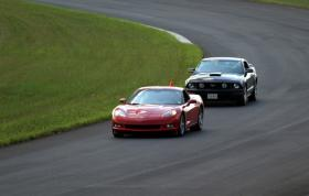 "Corvette and a Mustang <a href=""http://www.emraracing.org\"">EMRA</a> HPDE - July 11, 2008Lightning Raceway, <a href=\""http://www.njmotorsportspark.com\"">New Jersey Motorsports Park </a> in Millville, NJ"